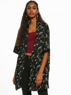 People Floral Print Shrug