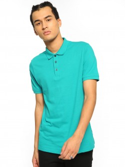 Blue Saint Basic Short Sleeve Polo Shirt