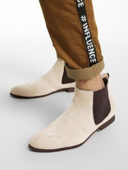 KOOVS Crepe Sole Suede Chelsea Boots
