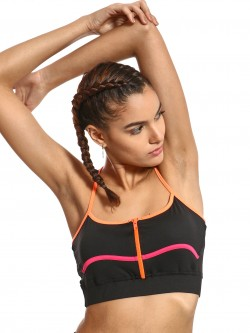 K ACTIVE KOOVS Contrast Panel Crop Top