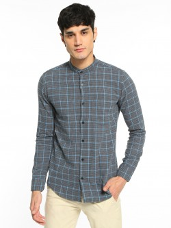 AMON Yarn Dyed Woven Check Shirt