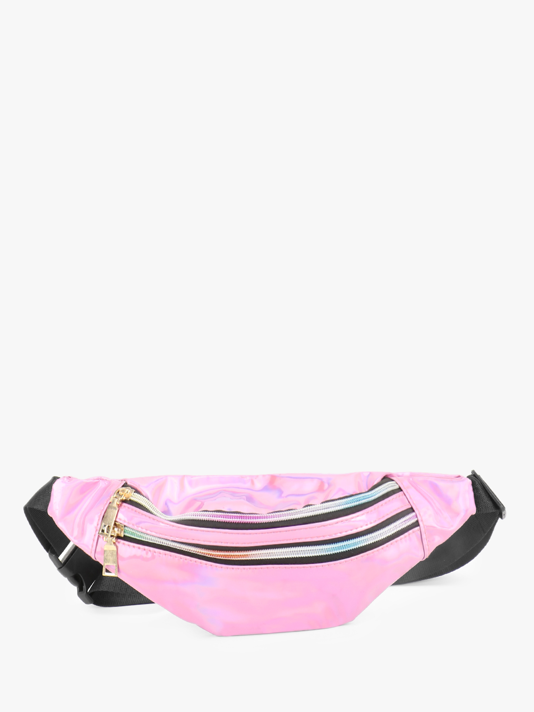 Origami Lily Pink Holographic Bum Bag 1