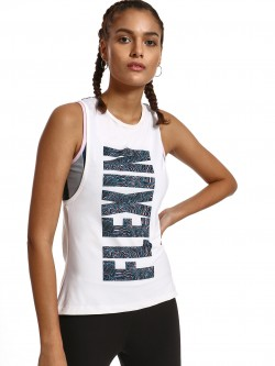 K ACTIVE KOOVS Flexin Abstract Print Vest
