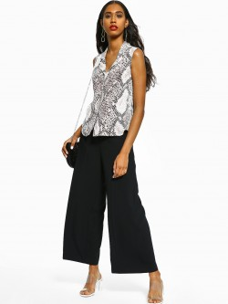 Cover Story Basic Wide Leg Trousers