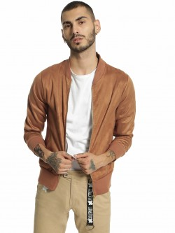 Garcon Suede Baseball Collar Jacket