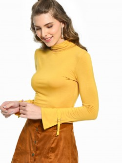 Cover Story Turtle Neck Long Sleeve Top