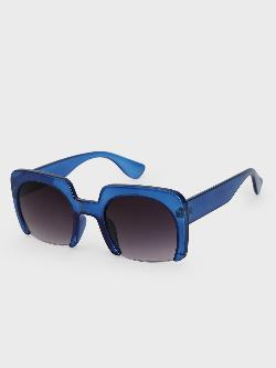 Pataaka Square Frame Retro Sunglasses