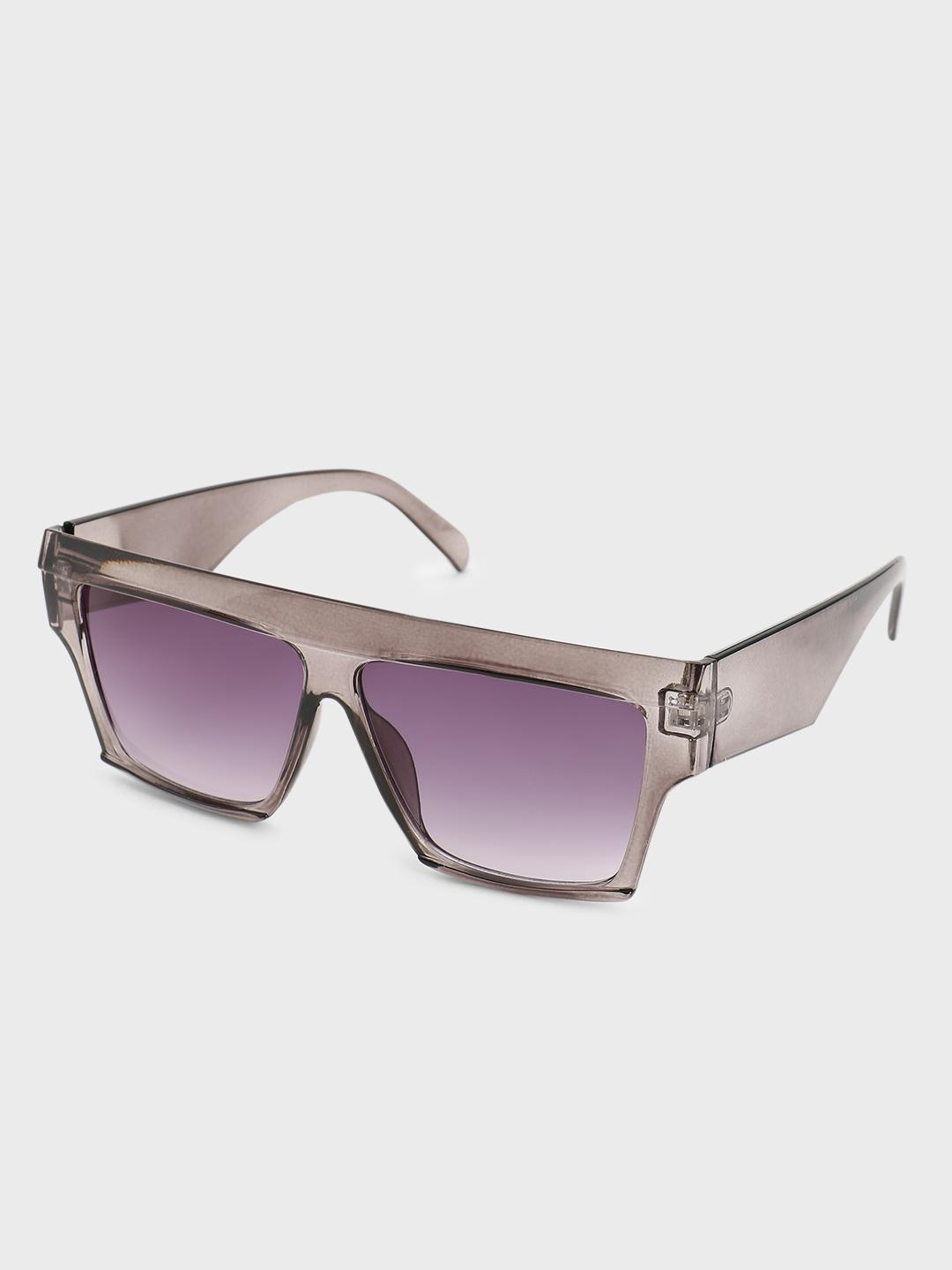Pataaka Silver Square Tinted Lens Sunglasses 1