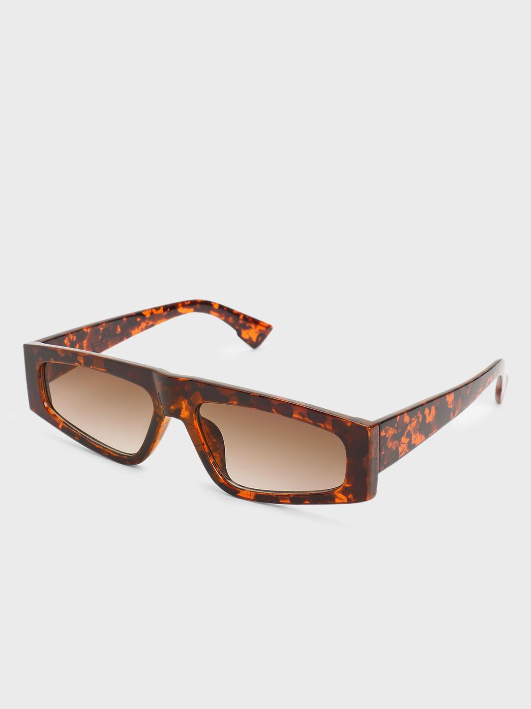Pataaka Brown Tortoise Shell Frame Retro Sunglasses 1