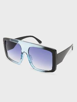 Pataaka Tinted Wide Lens Square Sunglasses