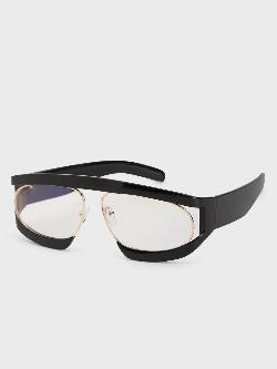Pataaka Textured Frame Retro Sunglasses