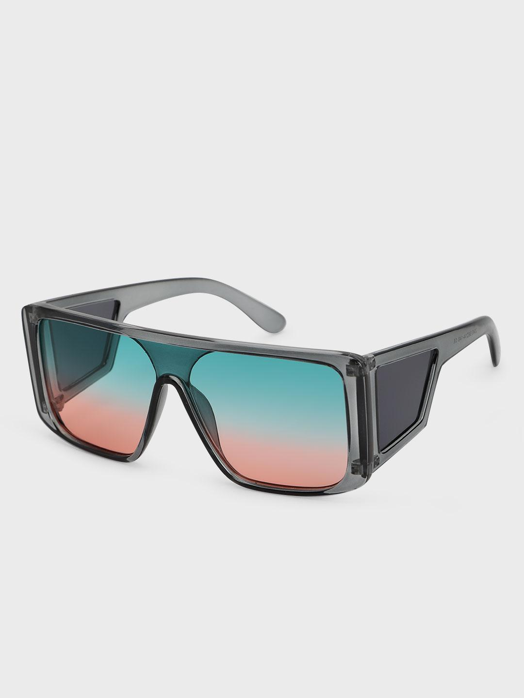 Pataaka Multi Ombre Broad Frame Square Sunglasses 1