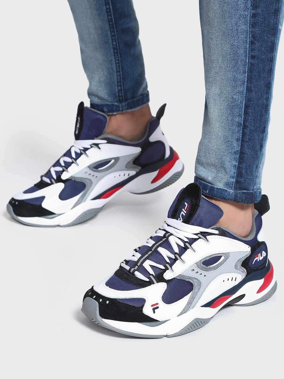 Fila Multi Boveasorus Colour Block Trainers 1