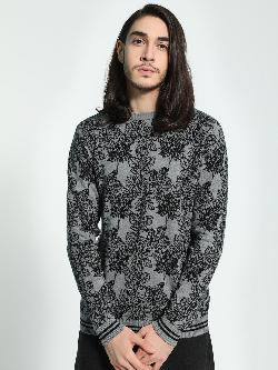 Akiva All Over Floral Print Pullover