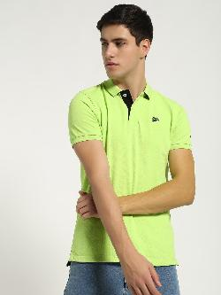 Being Human Contrast Collar Polo Shirt