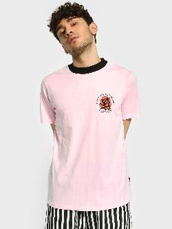 KOOVS Rose Slogan Print T-Shirt