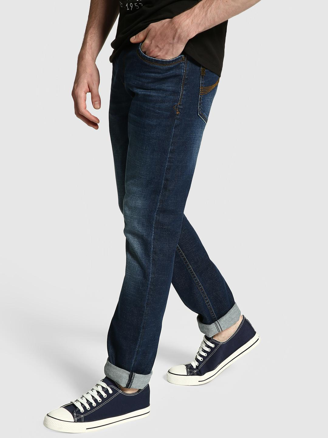 UMM Dark Indigo Light Wash Slim Jeans 1
