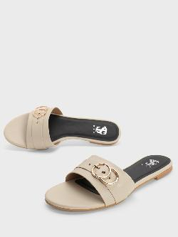 Shoe that fits You Pin Buckle Strap Flat Sandals
