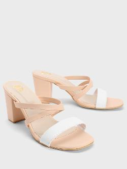Shoe that fits You Strappy Block Heeled Sandals
