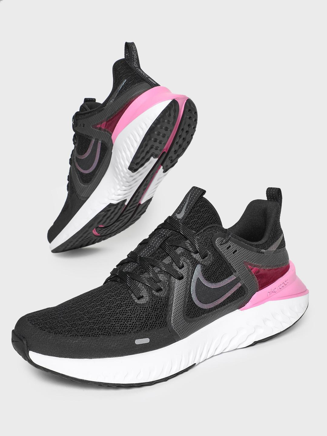 Nike Black Legend React 2 Running Shoes 1