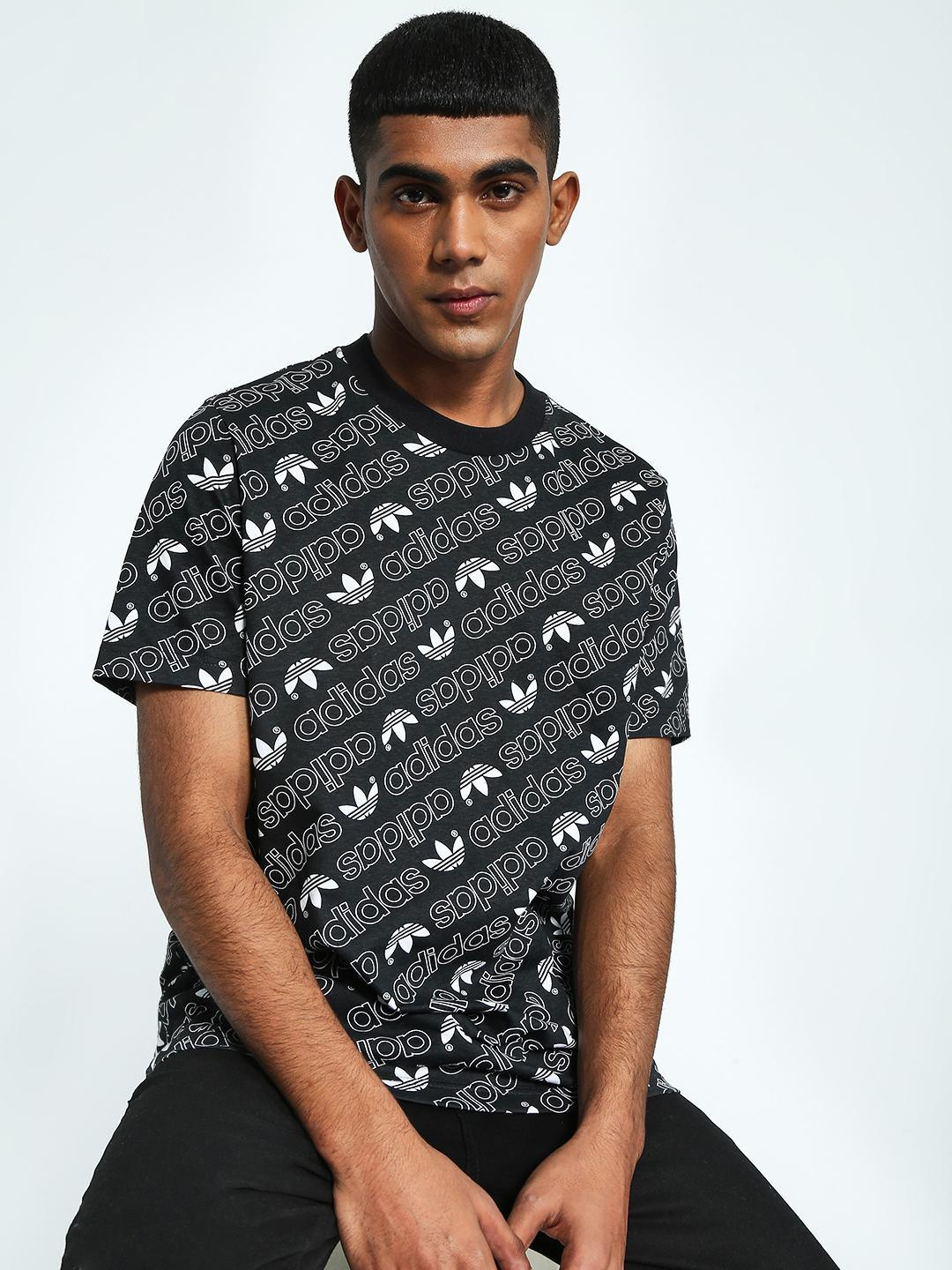 Adidas Originals Multi Monogram Short Sleeve T-Shirt 1