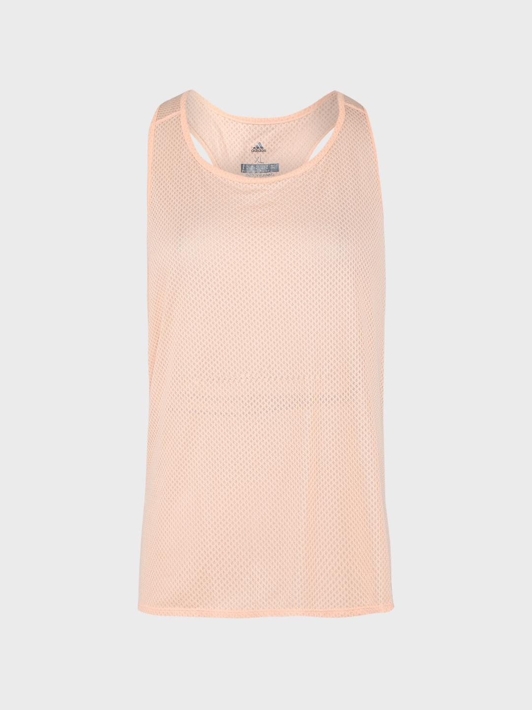 Adidas Pink Running Response Light Speed Tank Top 1