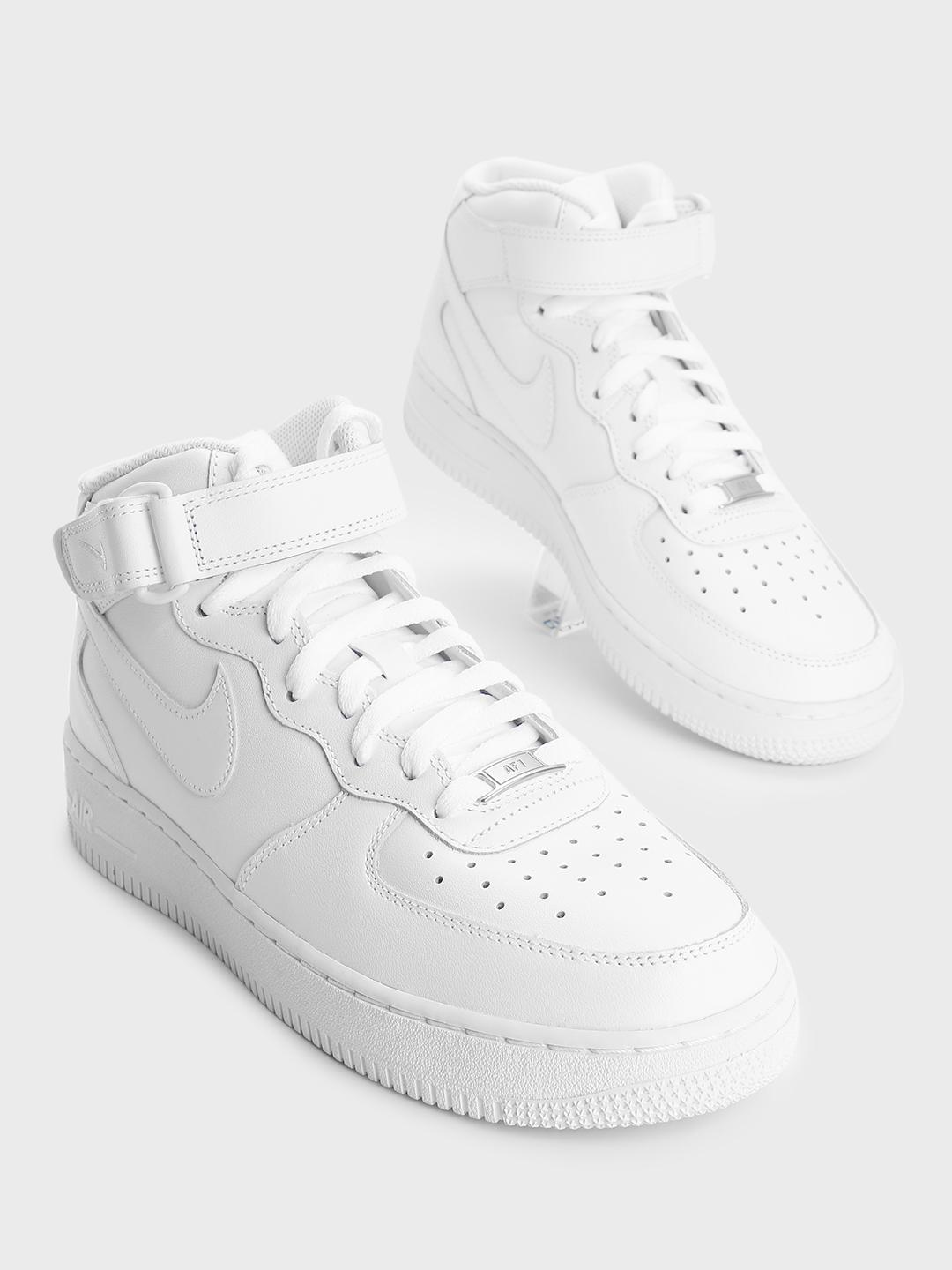 Nike White Air Force 1 Mid '07 Shoes 1