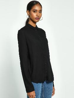 Blue Saint Basic Long Sleeve Shirt