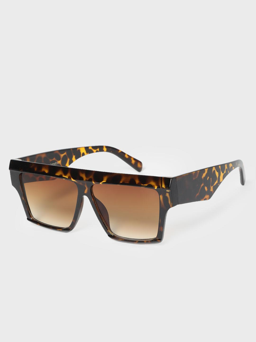 KOOVS Multi Tinted Lens Square Sunglasses 1