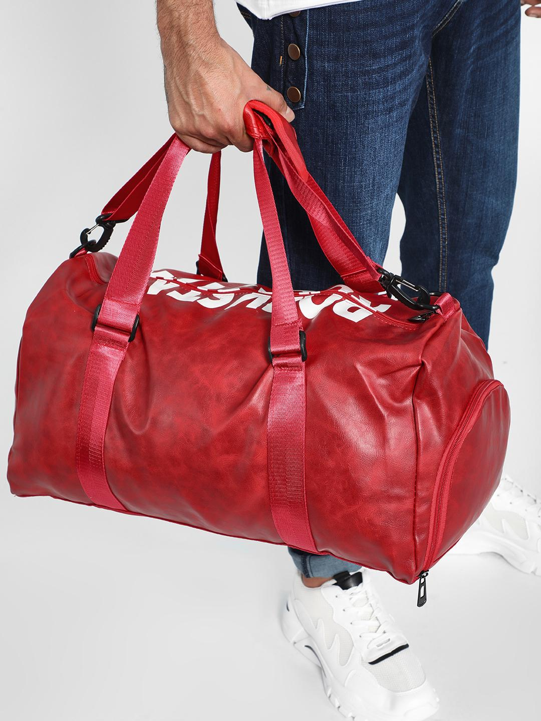 KOOVS Red Rockstar Print Backpack 1