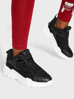 KOOVS Suede Mesh Panel Trainers