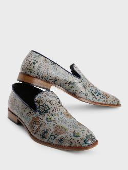 Bolt Of The Good Stuff Floral Art Print Loafers