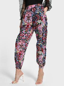 Manish Arora Paris X KOOVS Digital Print High Waist Joggers
