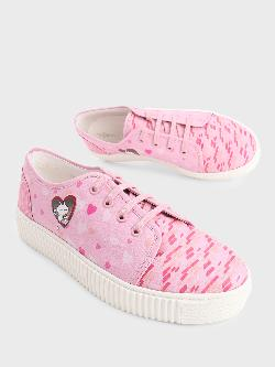 Manish Arora Paris X KOOVS Tuzki Heart Digital Print Sneakers