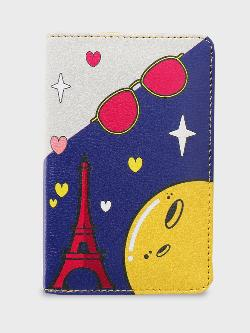 Manish Arora Paris X KOOVS Tuzki Print Passport Holder