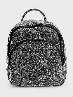 Origami Lily Metallic Glitter Backpack
