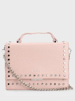 Origami Lily Studded Rectangular Sling Bag