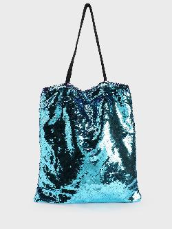 Origami Lily Multi Sequin Covered Tote Bag