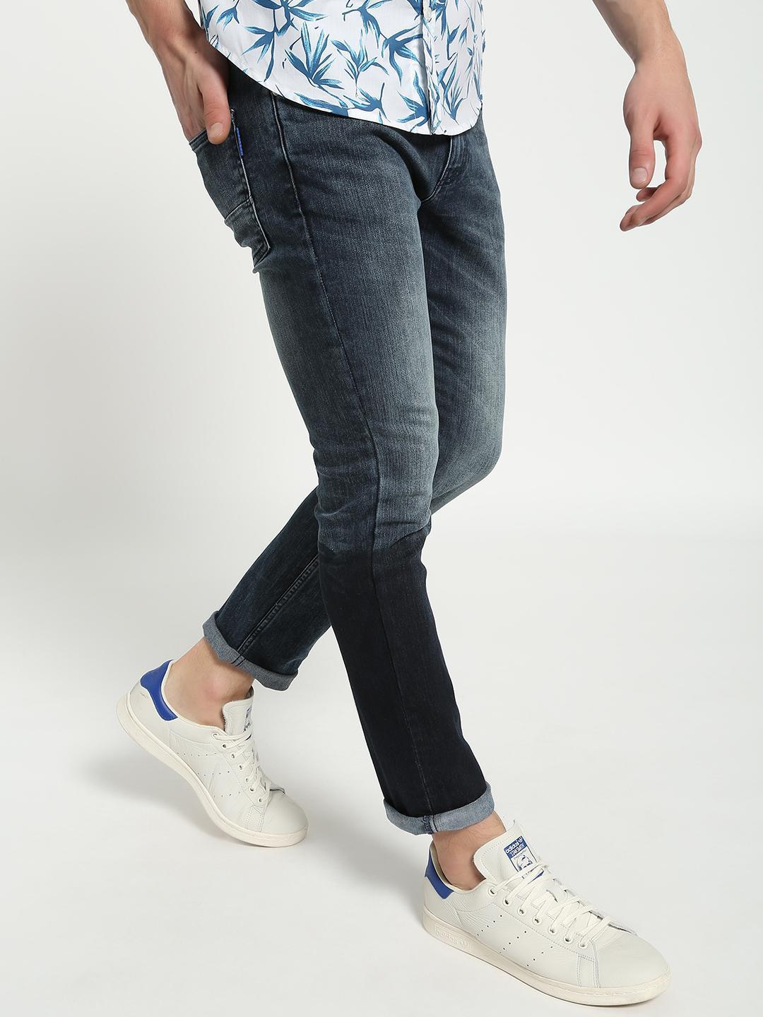 Blue Saint Blue Light Wash Slim Jeans 1