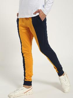 Blue Saint Colour Block Slim Joggers