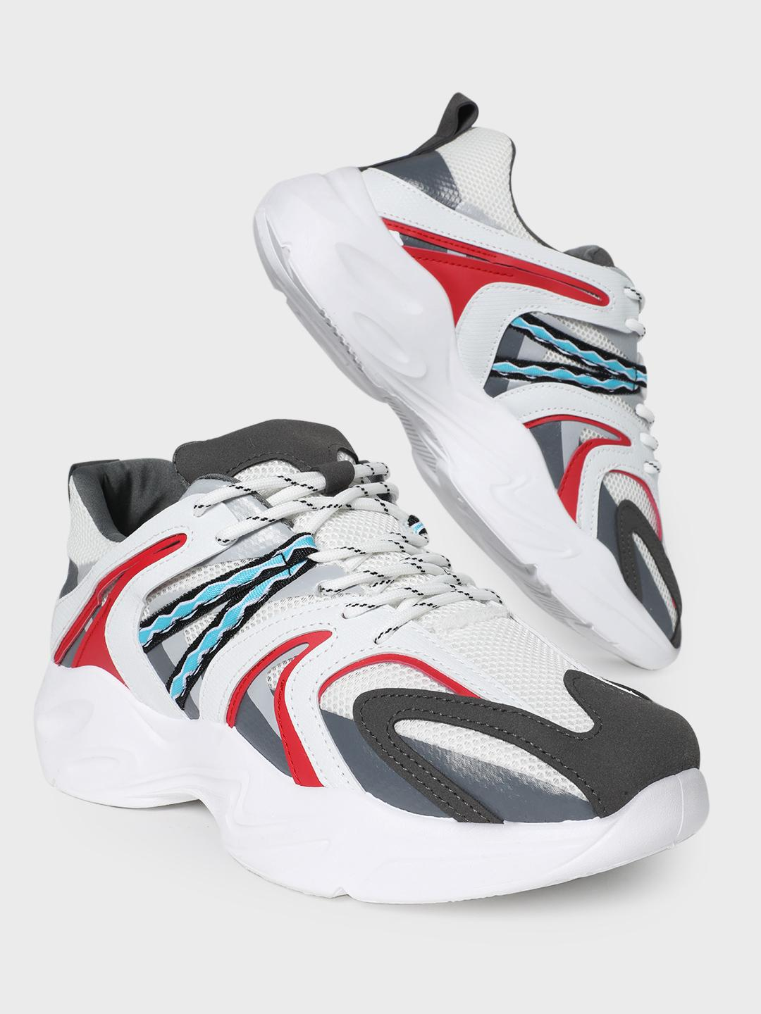 Kindred White Carnival Trainers 1