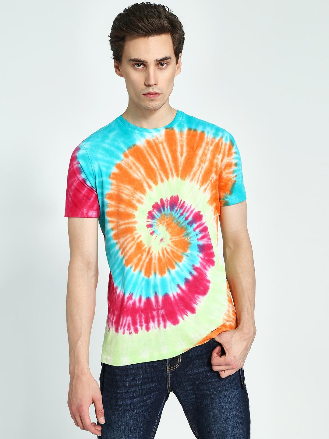 Garcon Multi Tie & Dye Short Sleeve T-Shirt 1