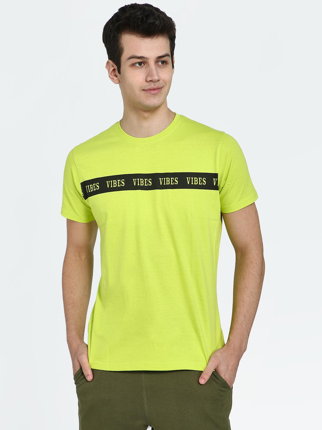 Garcon Green Vibes Text Placement Print T-Shirt 1
