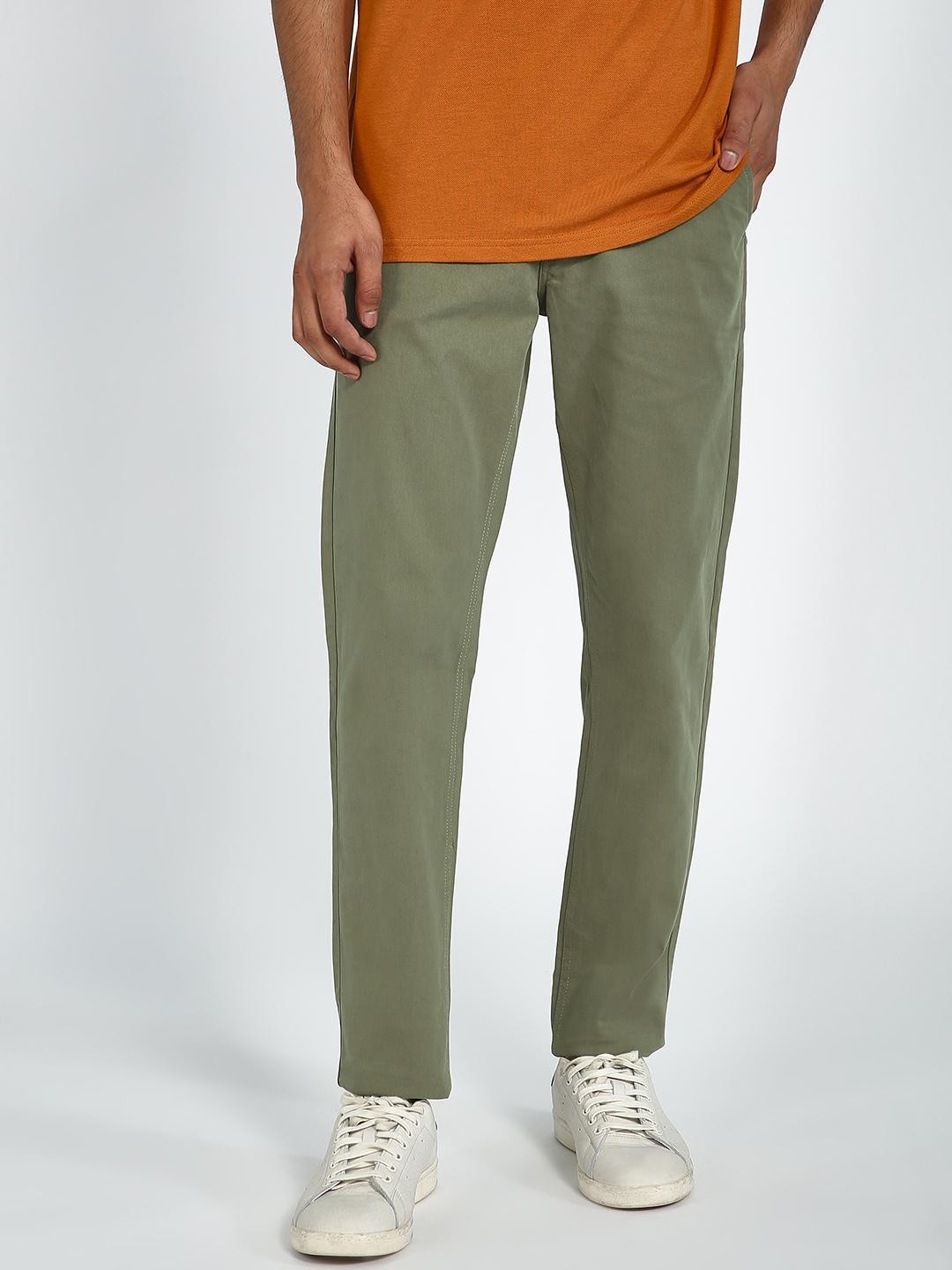 Blue Saint Olive Basic Slim Fit Trouser 1