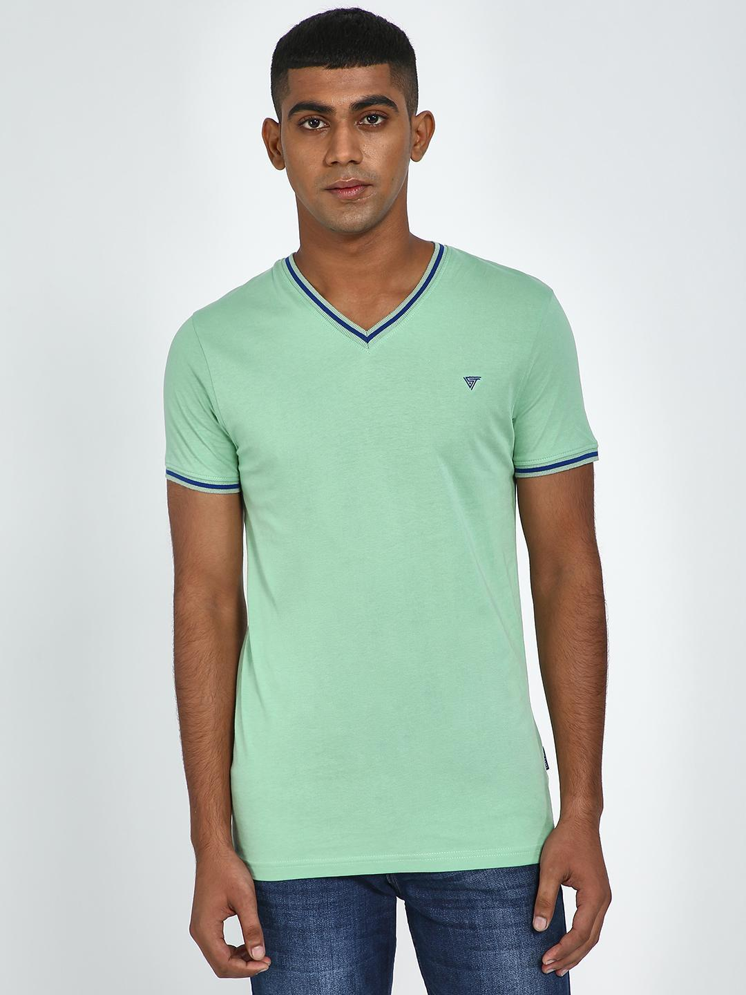 Blue Saint Hemlock V-Neck Regular Fit T-Shirt 1