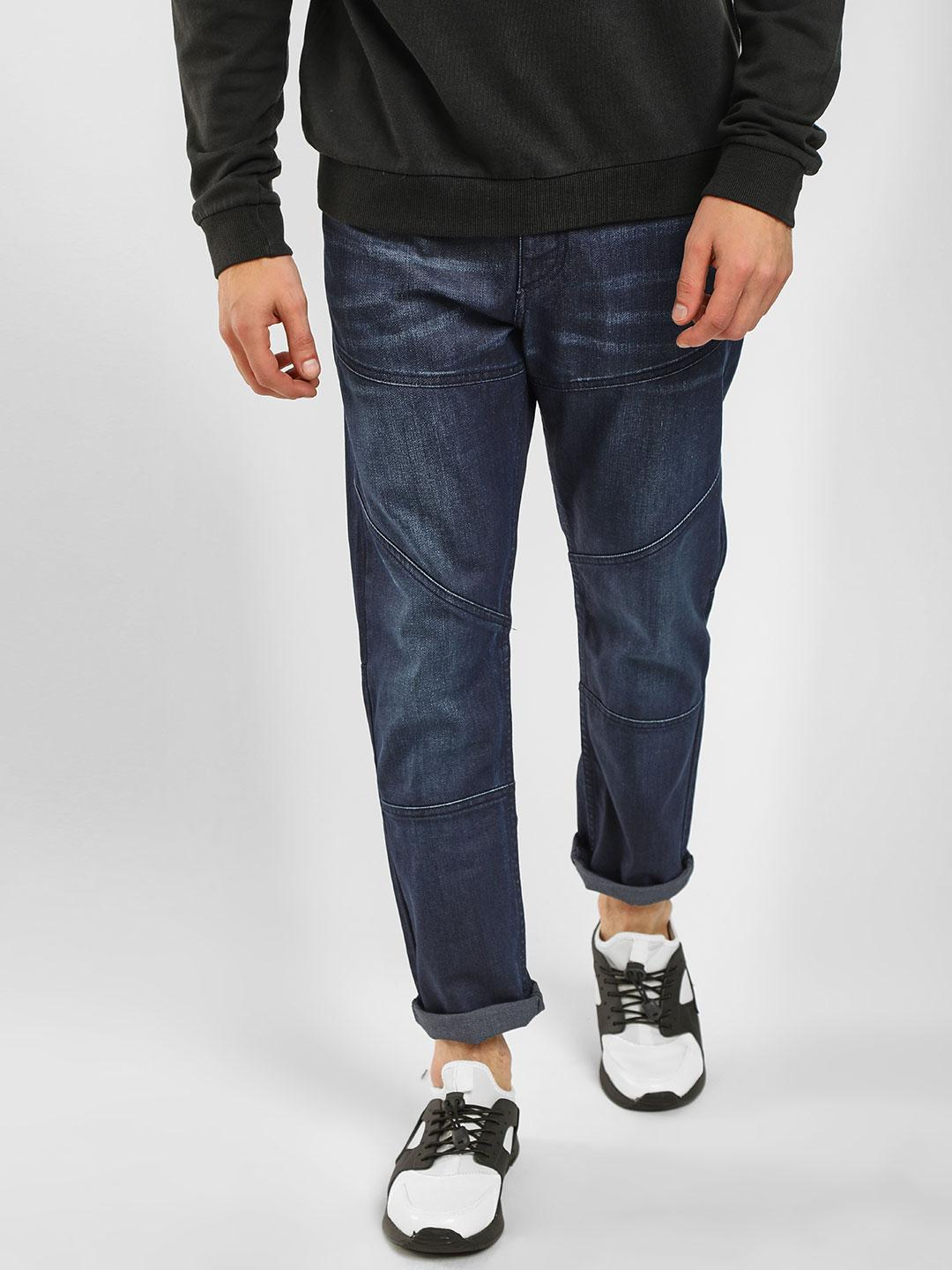 Blue Saint Blue Cut And Sew Washed Jeans 1