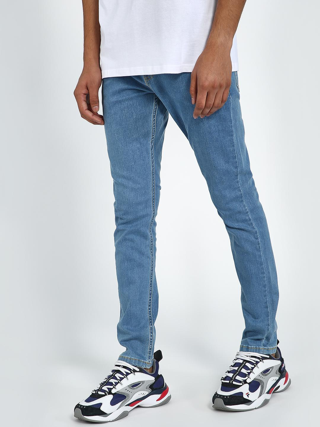 Blue Saint Light Blue Light Wash Skinny Jeans 1
