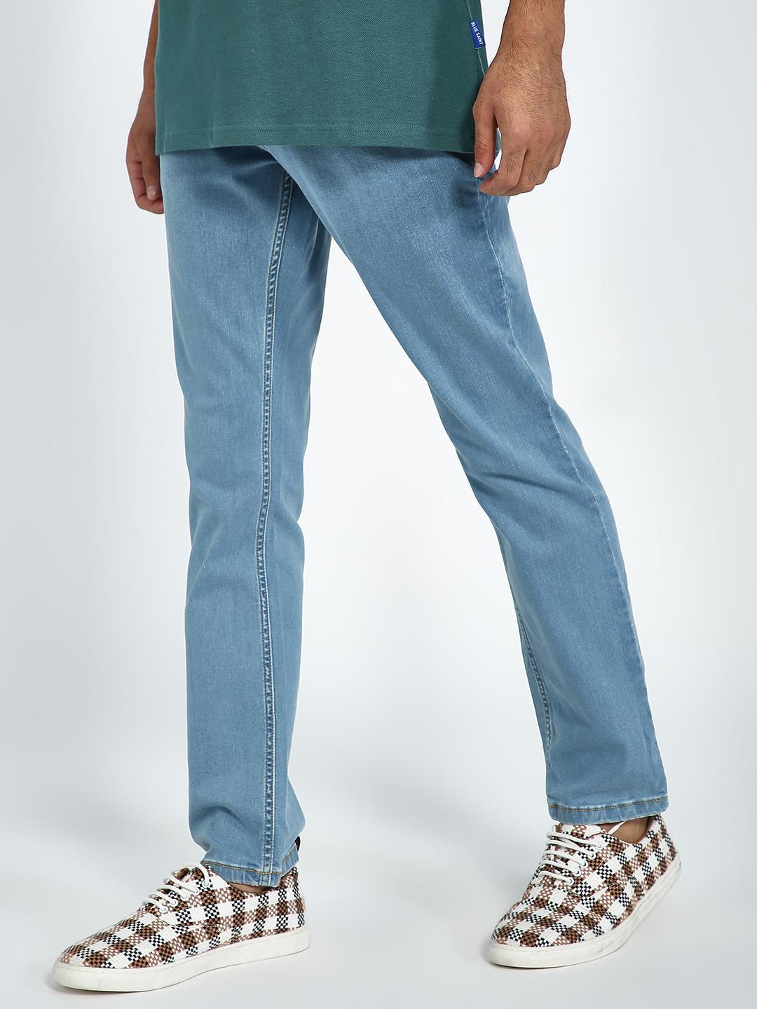 Blue Saint Light Blue Light Wash Slim Jeans 1