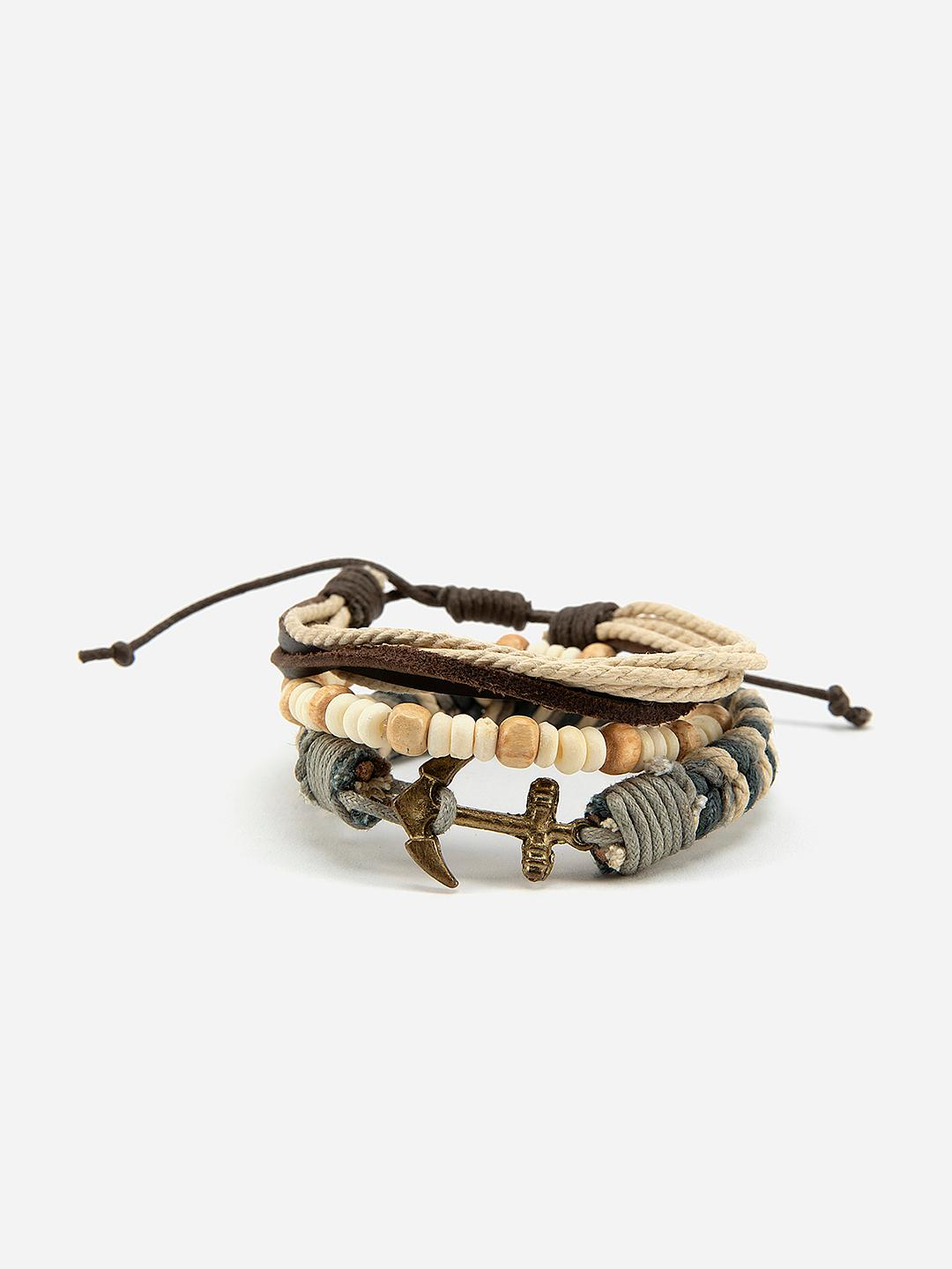 Lazy Panda Multi Beaded Stacked Bracelet 1