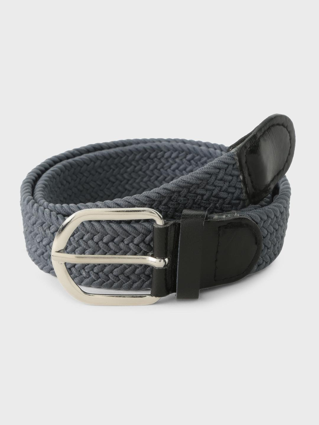Lazy Panda Grey Webbed Belt 1